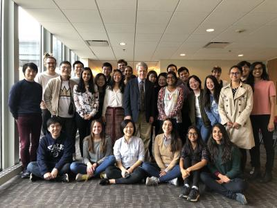 IDE '18 after the annual IDE class with Prof Robert Shiller